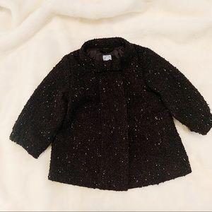 GAP • Toddler Pea Coat Black (12-18)